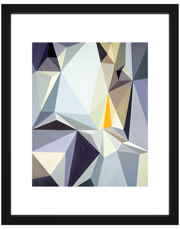geometric abstract fine art print